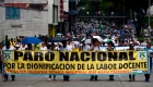 """La educación pública en Colombia, """"al borde del colapso"""""""