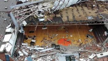 Un dron captan la devastación que causó el huracán Michael