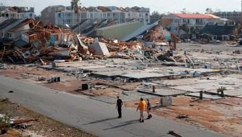 Panama City devastada por Michael