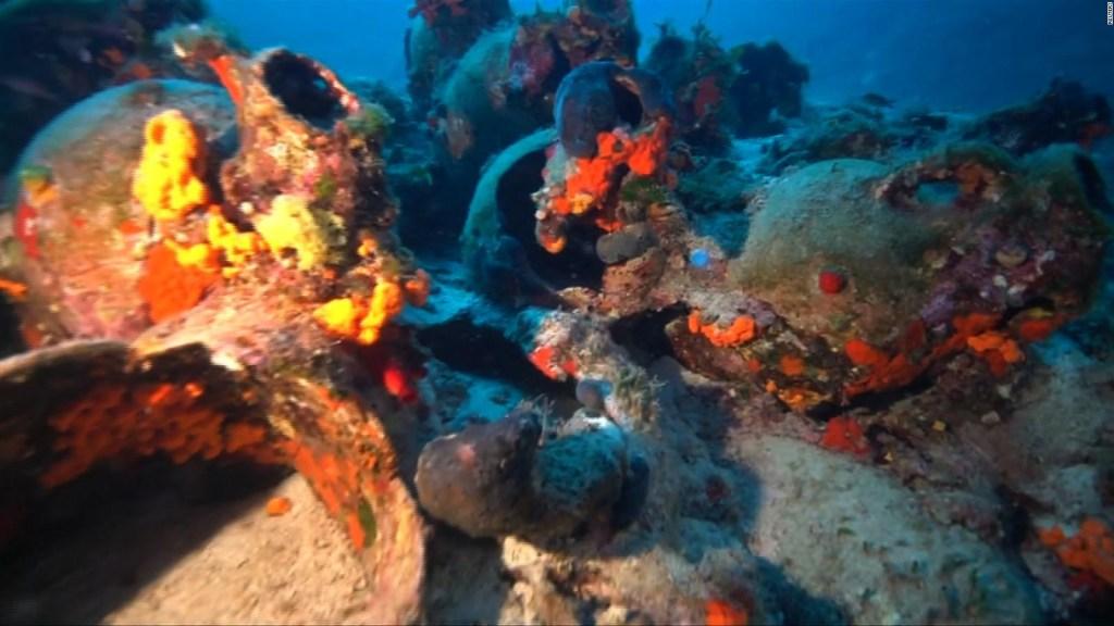Hallan bajo el mar el barco mercantil más antiguo del mundo