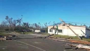 Mira la destrucción de Michael a su paso por Panama City