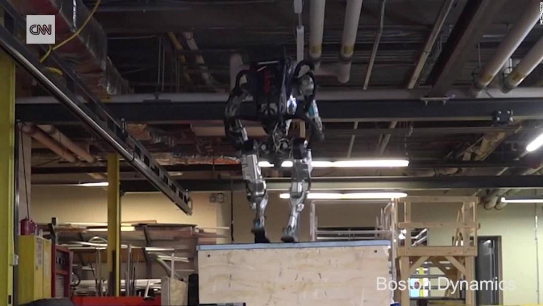 Mira los nuevos y ágiles movimientos de este robot