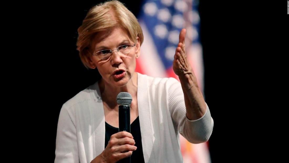 Trump no recuerda promesa para la senadora Warren