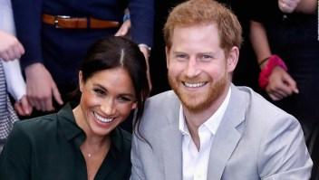 Meghan y Harry están esperando su primer hijo