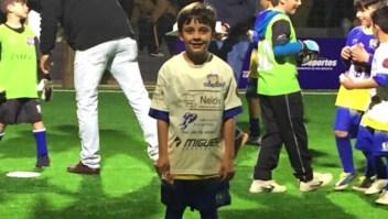 Futbolistas se unen por la salud de Facundo