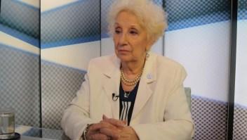 Estela de Carlotto analiza el rol de las familias de víctimas de violencia