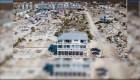 Una de las pocas casas que que soportaron el huracán Michael en Mexico Beach