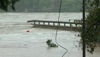 Impresionantes inundaciones en el centro del estado de Texas