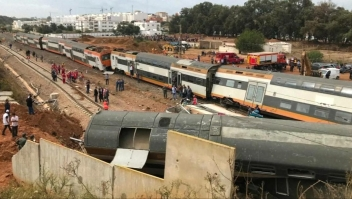 Descarrila tren en Marruecos