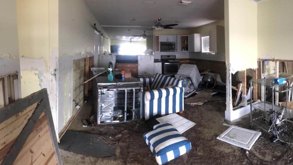 Volver a casa tras el huracán Michael