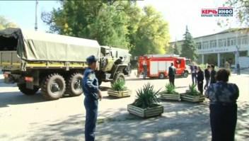 Explosión en Crimea podría ser acto terrorista, según el Kremlin