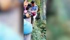 #EsViral: Hombre arriesga su vida por unas gafas de sol