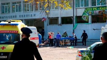 Artefacto explosivo deja al menos 19 muertos y 50 heridos en Crimea