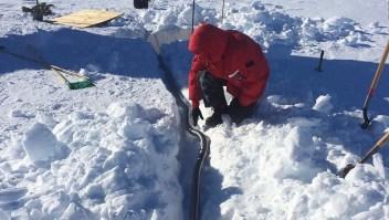 ¿Qué es este misterioso zumbido en la Antártida?