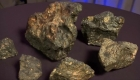 Subastan extraño meteorito lunar
