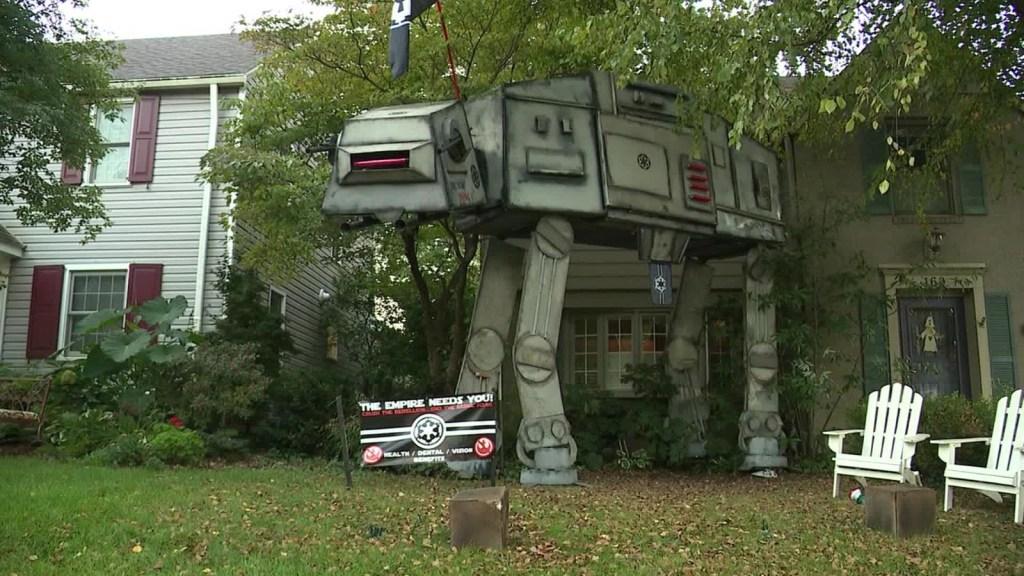 """Decoran una casa de Start Wars al estilo """"AT-M6"""" en Ohio"""