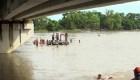 Caravana de migrantes buscan cruzar a México