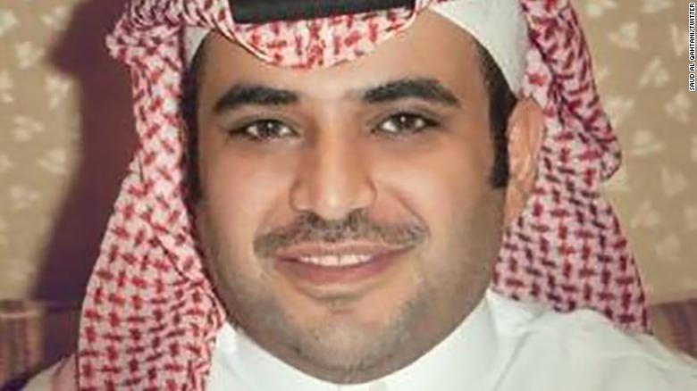 Saud al Qahtan, en una foto de su cuenta verificada de Twitter.
