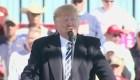 El presidente de Esta Trump de la crisis de migrantes en puente entre Guatemala y México