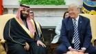 Una tormenta, y no de arena, azota a Arabia Saudita