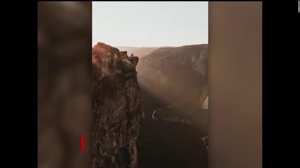 El parque de Yosemite testigo de amor