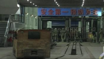 China: Avalancha entierra a 18 mineros