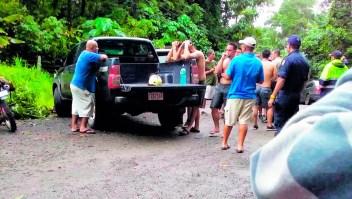 Varios turistas estadounidenses mueren luego de ser arrastrados por un río en Costa Rica