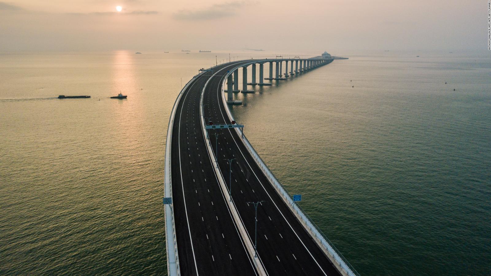 Así puedes cruzar el puente marítimo chino más grande del mundo   CNN