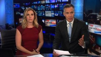 Así sonó la alarma de evacuación en las oficinas de CNN
