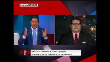 Fernando del Rincón confronta al analista republicano Iván García