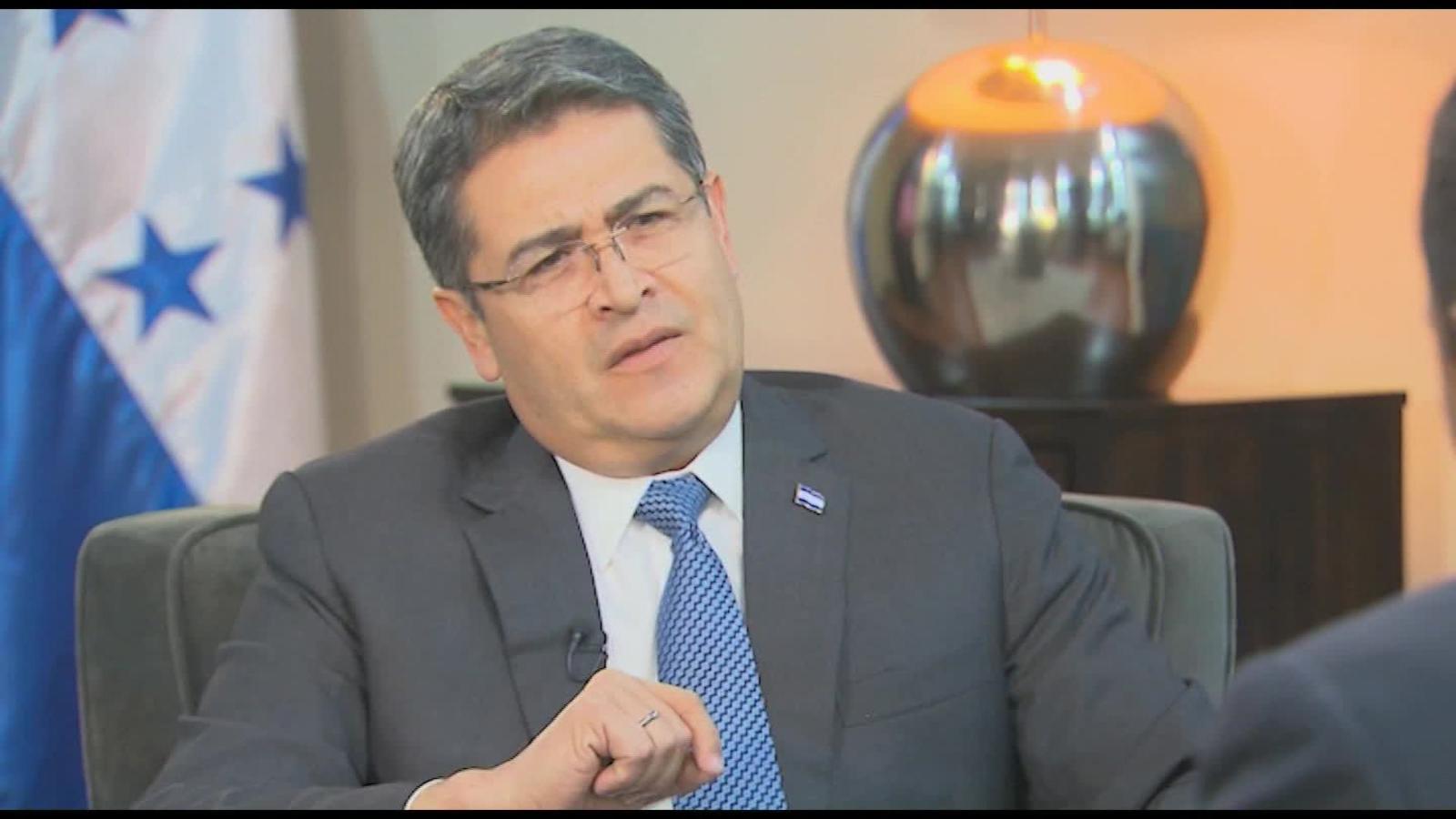 """Juan Orlando Hernández: """"Mandé una delegación a Washington para amar una investigación"""""""