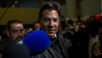 Brasil: simpatizantes de Bolsonaro festejan; los de Haddad están desilusionados