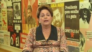 """Rousseff: """"La democracia sigue siendo una forma fundamental de lucha"""""""