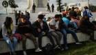 Inmigrantes caravana centroamericanos: Queremos una mejor vida en EE.UU.