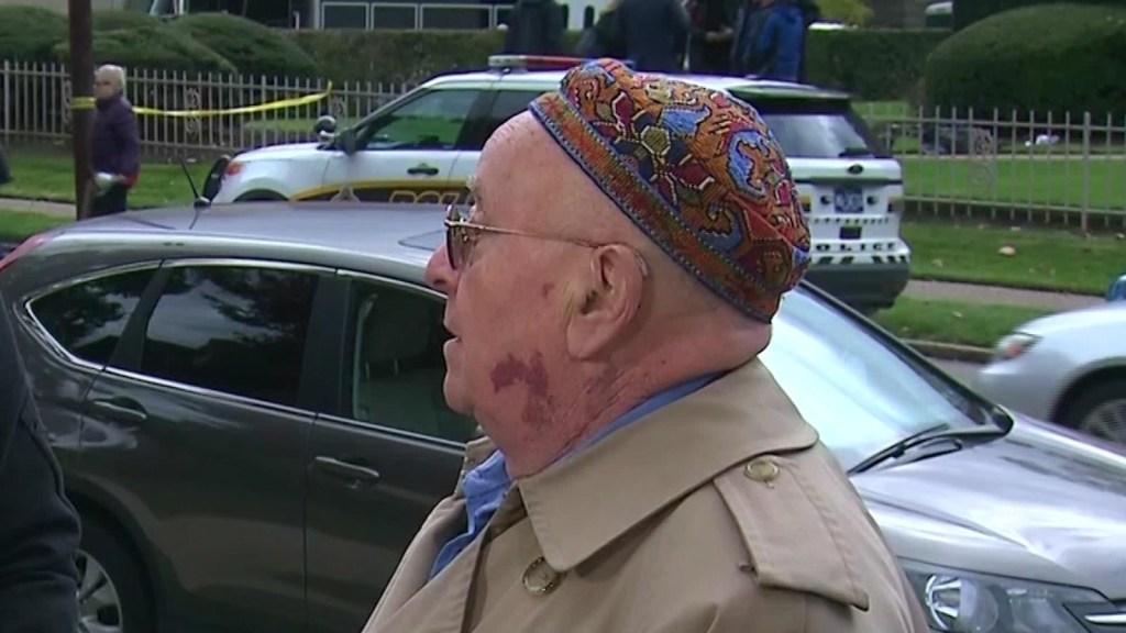 Hombre sobrevive el holocausto y a tiroteo en sinagoga