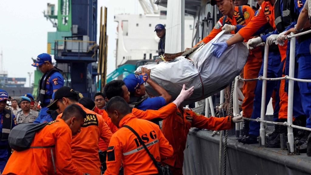 Lo que sabemos sobre el avión de Lion Air que se estrelló en Indonesia con 189 pasajeros