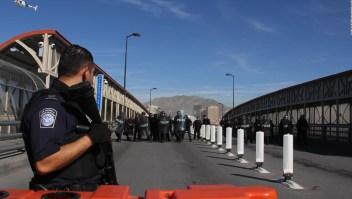 EE.UU. intenta evitar el ingreso de caravana de migrantes