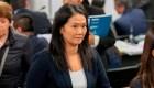 Dictan 36 meses de prisión preventiva contra Keiko Fujimori
