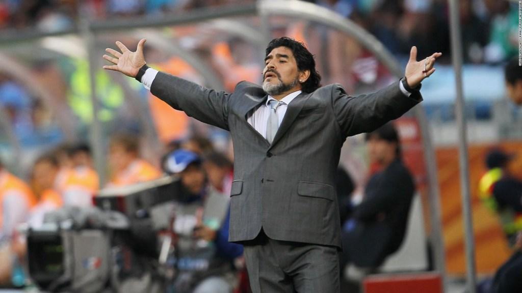 El homenaje artístico a Diego Maradona en Buenos Aires
