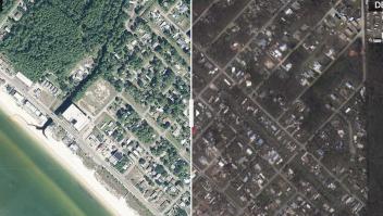 El huracán Michael destrozó gran parte de Mexico Beach, en Florida.