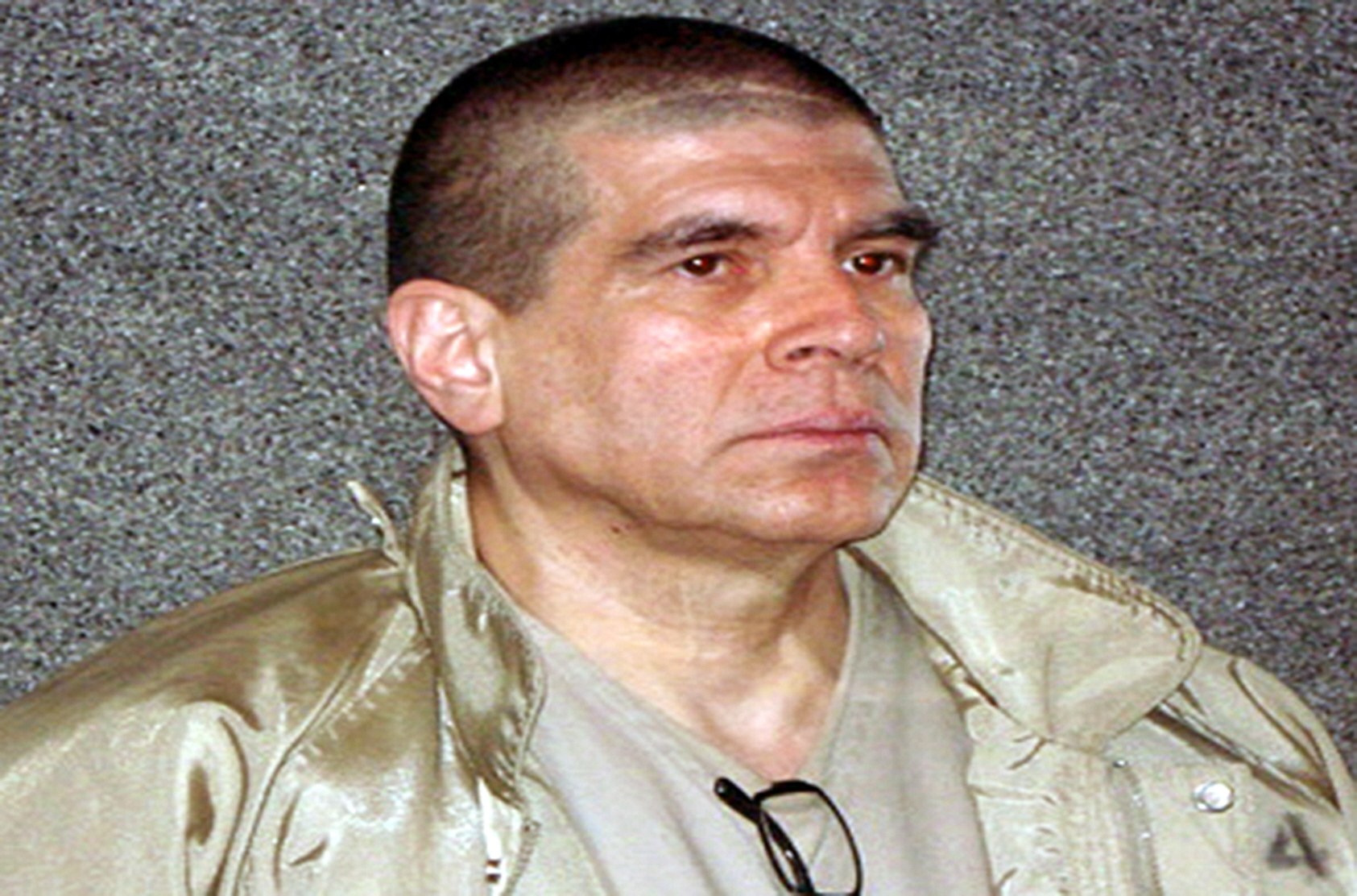 Picture released on April 29, 2011 in Mexico City by General Attorney, showing Benjamin Arellano Felix, considered the number one and head of the notorious drug trafficking Tijuana cartel. Arellano Felix was extradited to the United States and will be arraigned in Federal District Court in San Diego. The battles between drug lords have claimed more than 35,000 dead across the country over the past three years, according to official figures. AFP PHOTO / PGR / HANDOUT (Photo credit should read PGR/AFP/Getty Images)