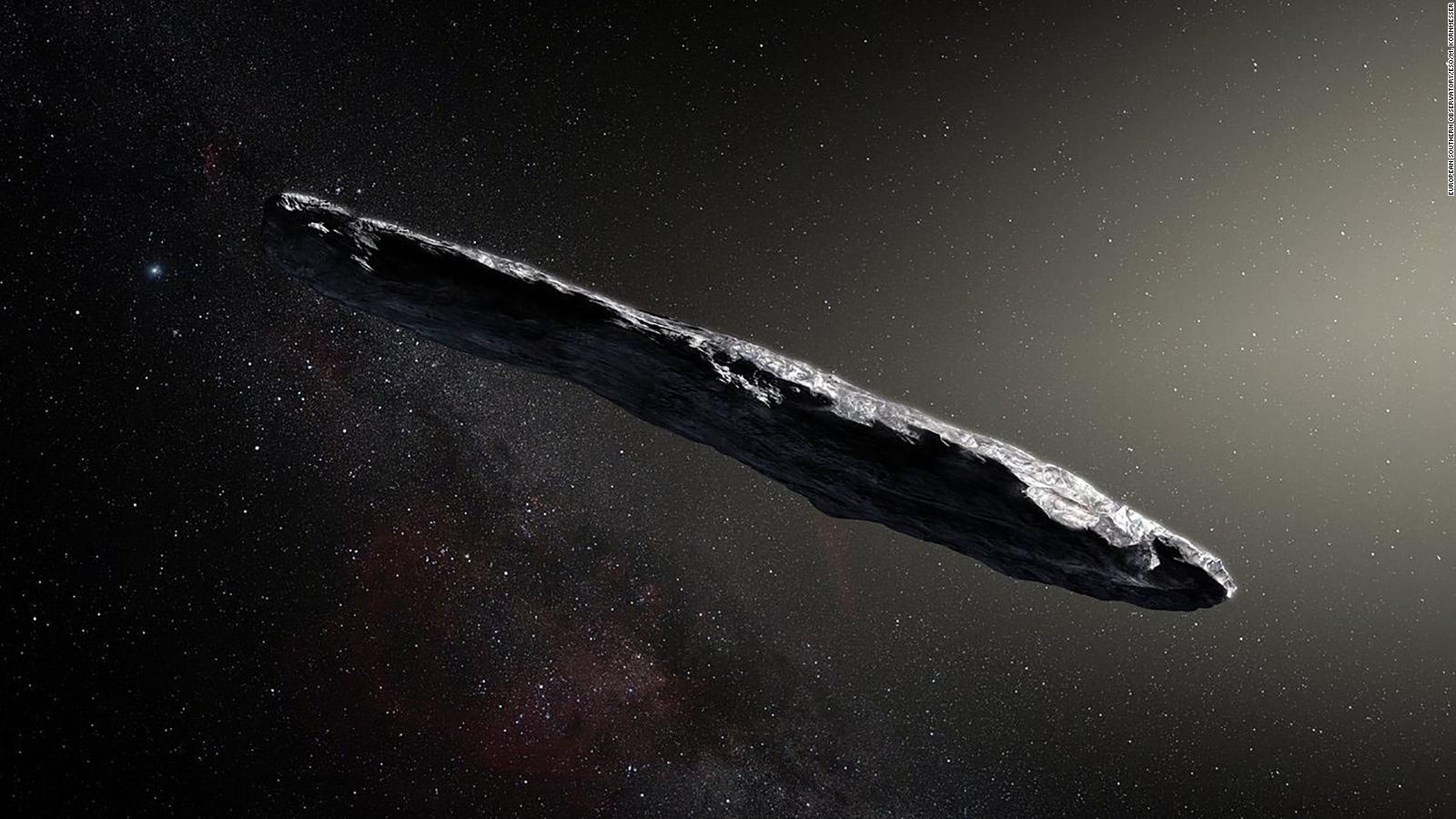 Objeto espacial detectado en 2017 podría ser extraterrestre