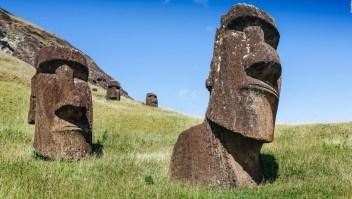 Isla de Pascua quiere su estatua de vuelta