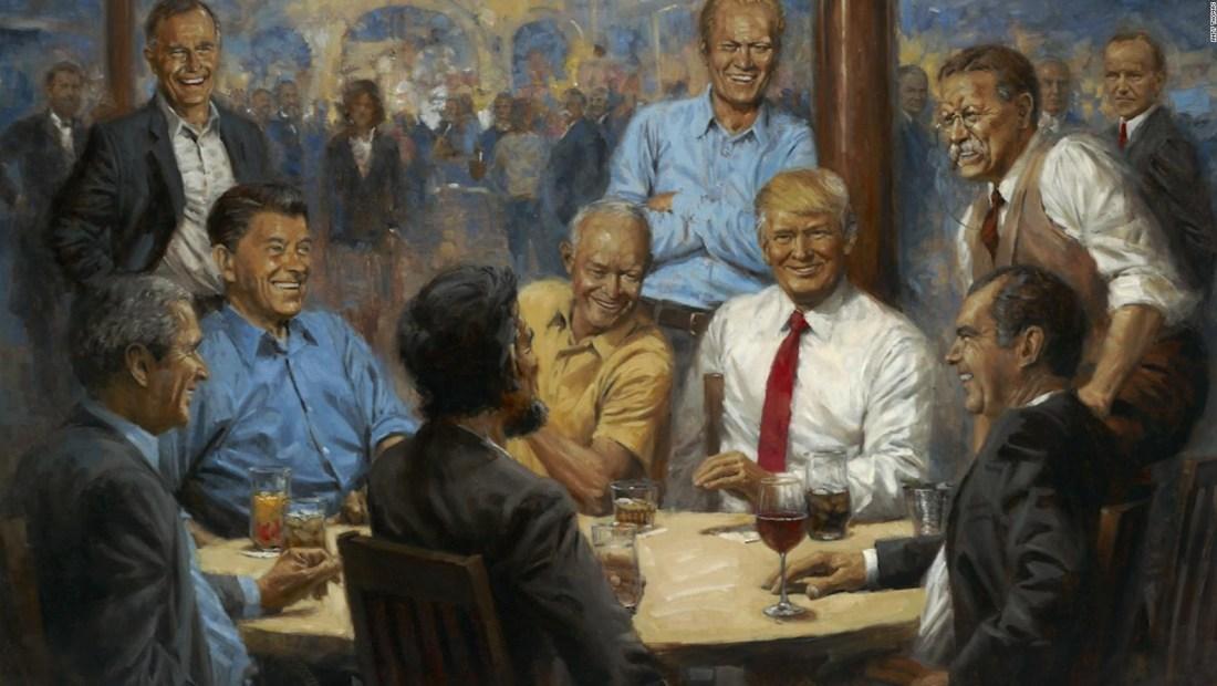 Los retratos favoritos de Trump