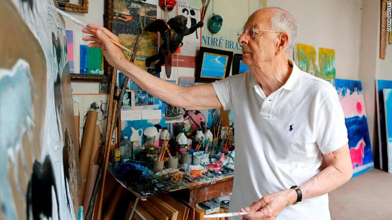 Andre Basilier es un reconocido pintor francés.