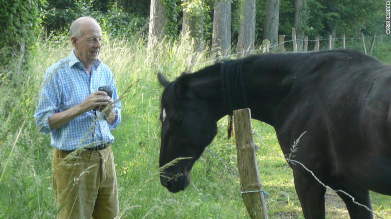 Brasilier ha estado enamorado de los caballos a lo largo de su vida.