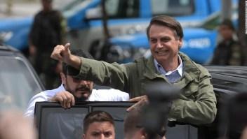 Jail Bolsonaro, presidente electo de Brasil.