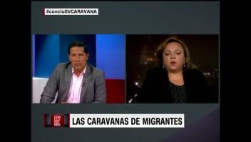 Fernando del Rincón a la embajadora de El Salvador en Estados Unidos: ¿Hay posibilidad de una motivación política detrás de esta caravana?