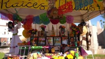 Así celebraron en California el Día de Muertos