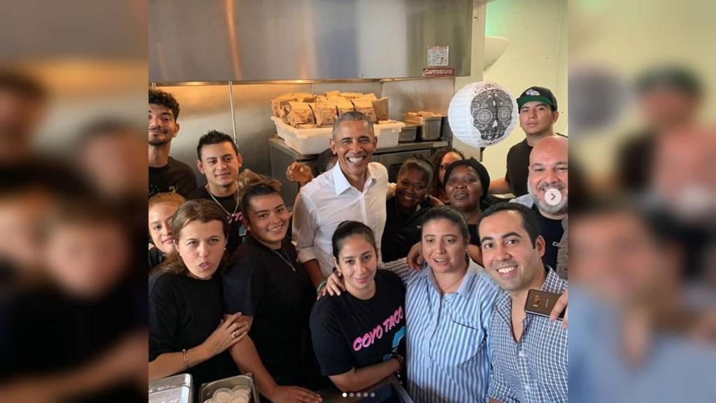 Obama se va por unos tacos en Miami